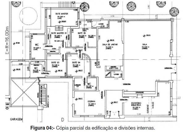 CASA TÉRREA ÁREA ÚTIL 347 - 4 SUÍTES + 4 VAGAS